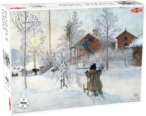 Tactic legpuzzel Wintertuin 1000 stukjes