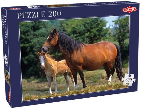 Tactic paardenpuzzel 200 stukjes 48 cm