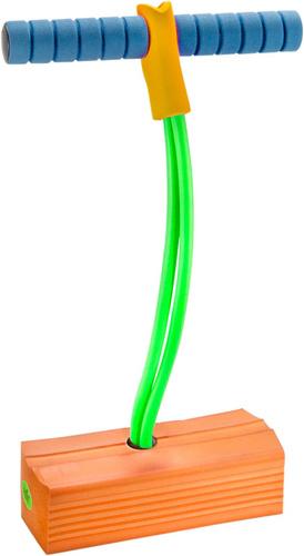 Tactic pogostick junior 17,5 x 28 cm foam oranje/groen/blauw