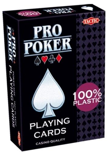 Tactic Pro Poker Plastic Speelkaarten