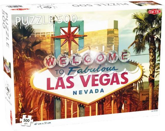 Tactic legpuzzel Las Vegas 47 x 31 cm 500 stukjes