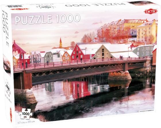 Tactic legpuzzel Nivelda in Trondheim 67 x 48 cm 1000 stukjes