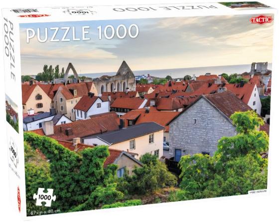 Tactic legpuzzel Visby, Gotland 1000 stukjes