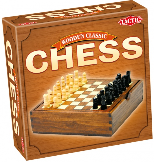 Wooden Chess Classic