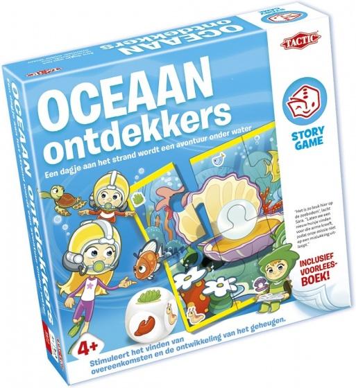 Tactic Story Game kinderspel Oceaan Ontdekkers