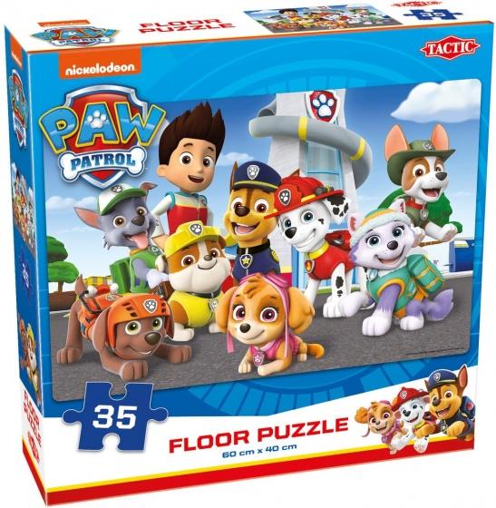 Tactic vloerpuzzel Nickelodeon Paw Patrol 60 x 40 cm 35 delig