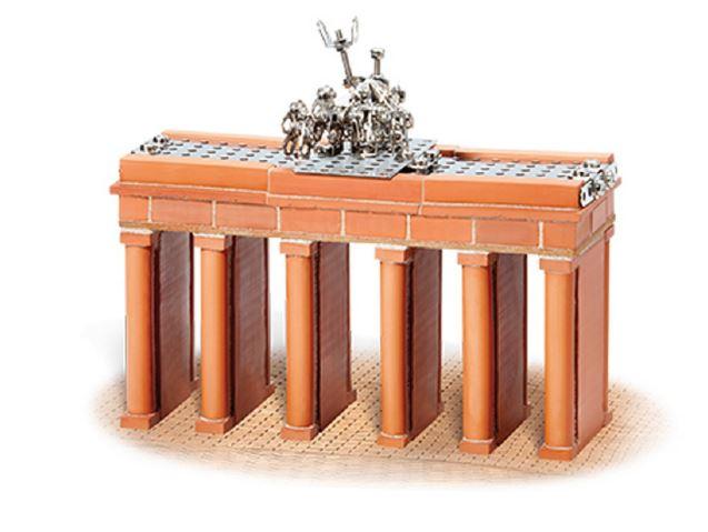 Teifoc bouwdoos Brandenburgse poort steen bruin 250 delig