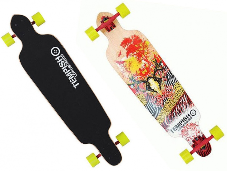 Tempish Crazy Longboard 101 x 25,5 cm multicolor