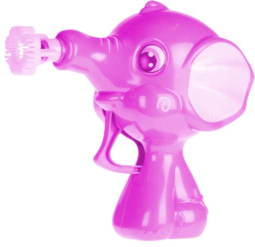 Tender Toys bellenblaaspistool olifant 50 ml 11 x 10 cm roze
