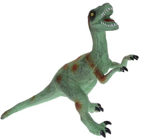 Tender Toys dinosaurus T rex 55 cm groen/oranje