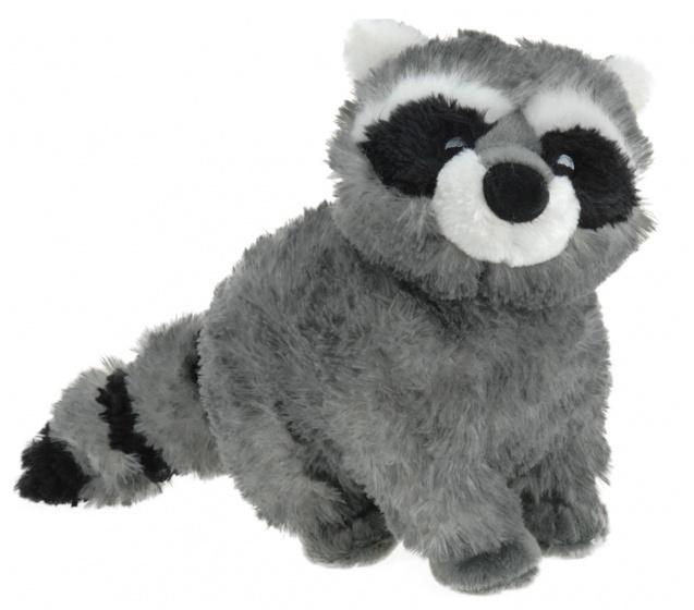 Tender Toys knuffel wasbeer 30 cm pluche grijs