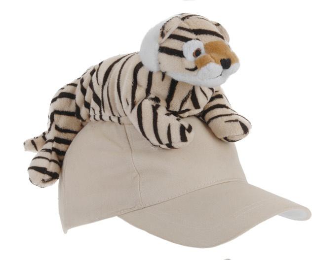 Tender Toys tijgerpet beige one size kopen