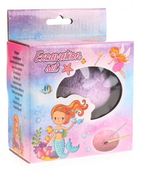 Tender Toys uithak ei zeemeermin paars 7 cm