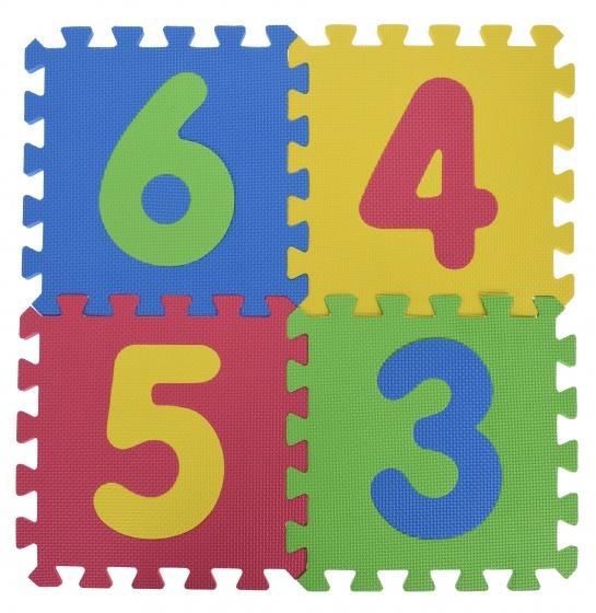 Tender Toys vloerpuzzel met cijfers 9 delig kopen