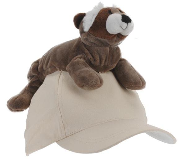 Tender Toys wasberenpet beige one size kopen