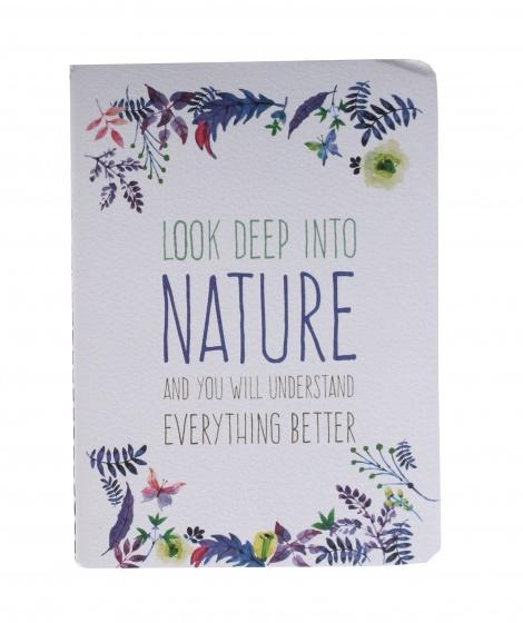 Tesoro schrift nature wit 14 cm