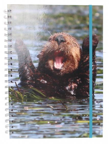 The Comedy Wildlife notitieboek A4 bever