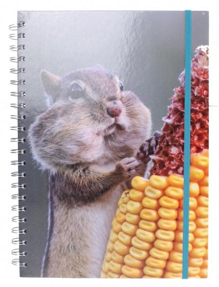 The Comedy Wildlife notitieboek A4 eekhoorn