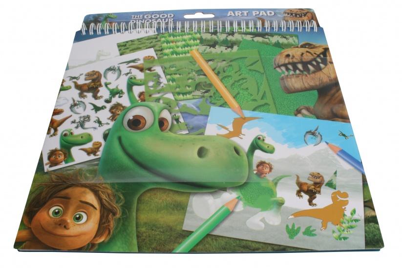 The Good Dinosaur Knutselboek met stickers