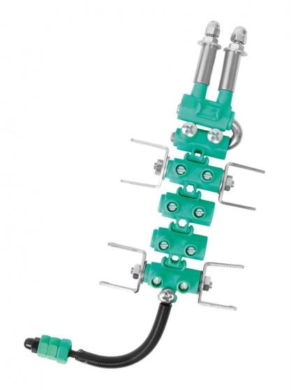 The Offbits bouwpakket Animal Kit Crocbit 62 delig groen