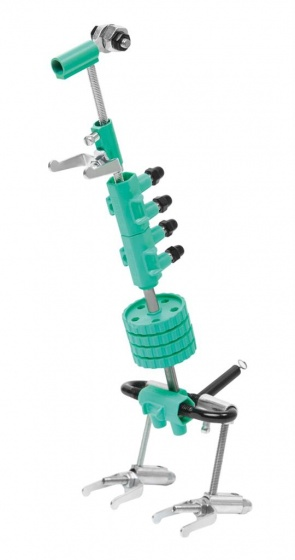 The Offbits bouwpakket Animal Kit Dinobit 62 delig groen
