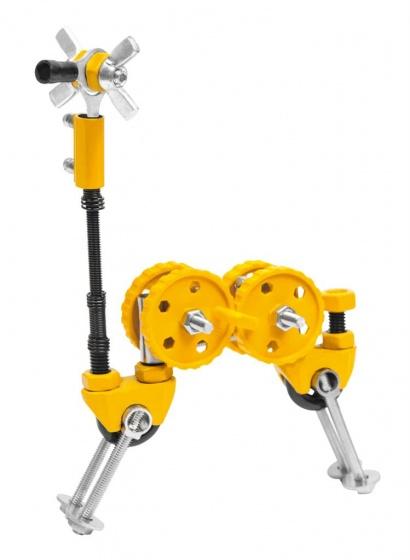 The Offbits bouwpakket Animal Kit Giraffebit 62 delig geel