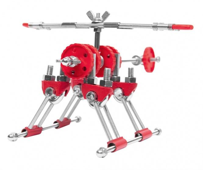 The Offbits bouwpakket Animal Kit Skybit 110 delig rood