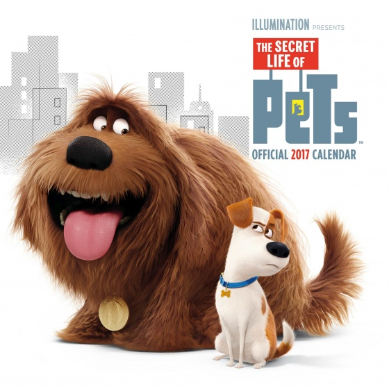 The Secret Life of Pets kalender 2017 30 x 30 cm