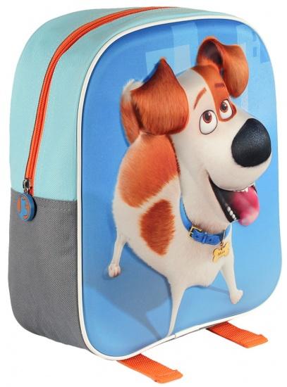 The Secret Life of Pets Rugzak 3D Max 31 x 25 x 10 cm blauw