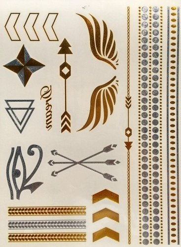 This Is It Metallic Tattoos (03663)
