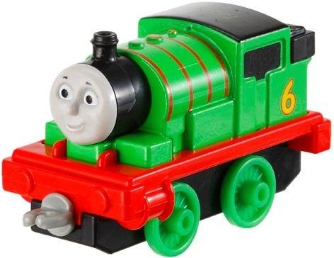 Thomas de Trein Die cast vehicle Percy groen/rood/zwart