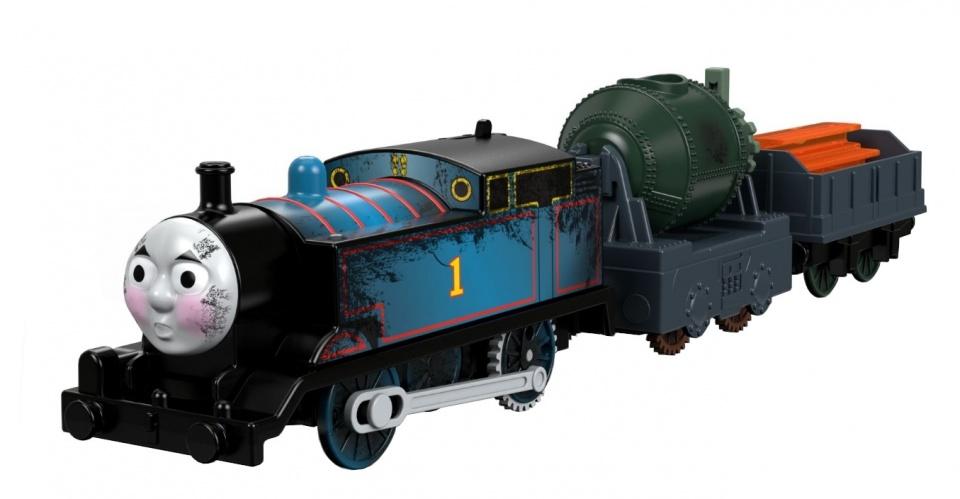 Thomas de Trein Gemotoriseerde trein blauw 30 cm