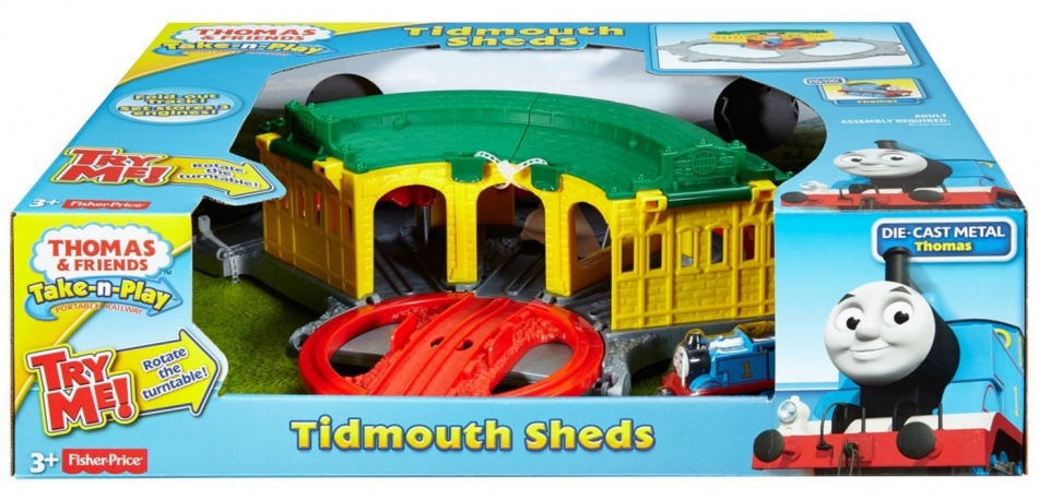 Thomas de Trein Speelset Thomas de Trein: Tidmouth Sheds