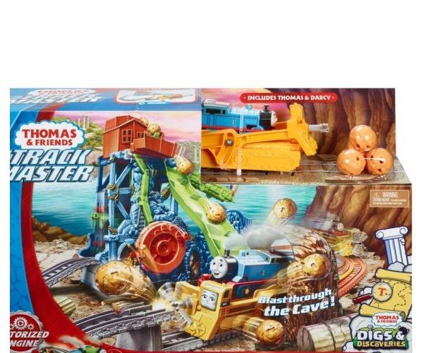 Thomas de Trein TrackMaster trainrails grotinstorting multicolor