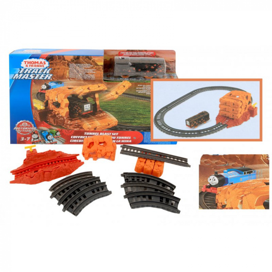 Thomas de Trein tunnel blast treinrails speelset junior multicolor
