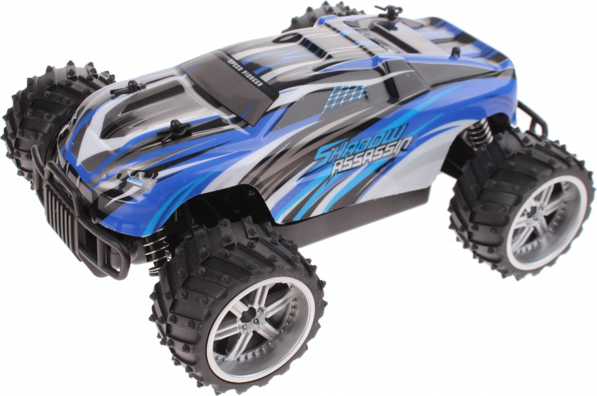 ThomaxX RC buggy 1:16 X Truggy Shadow Assassin 29 cm blauw