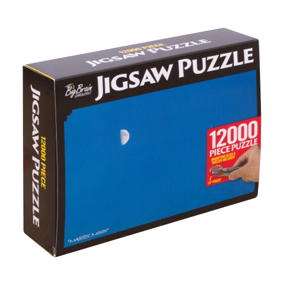 thumbsUp! prank pakket Puzzel 12,000 stuks 30,5 cm karton