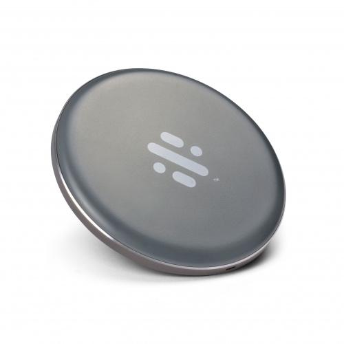 Swipe draadloze oplader 17 cm grijs 2 delig