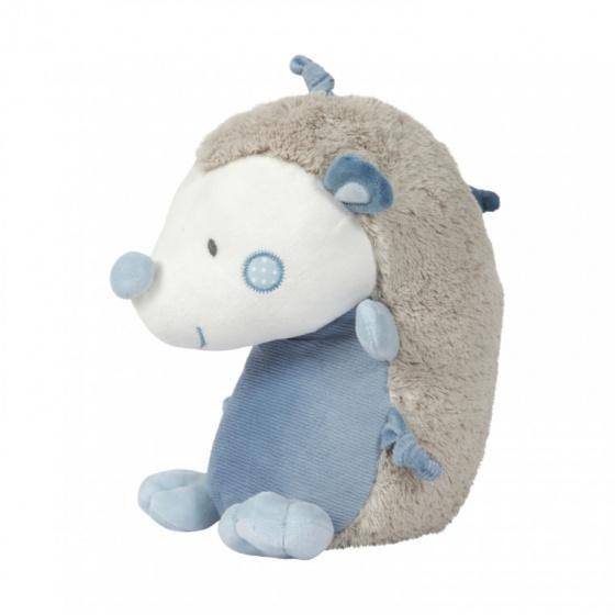 Tiamo knuffel egel 30 cm blauw grijs