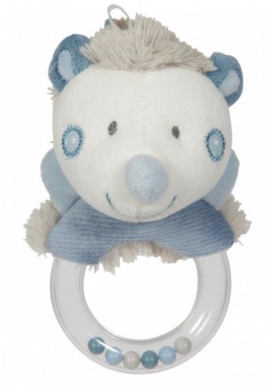 Tiamo rammelaar egel 15 cm blauw grijs