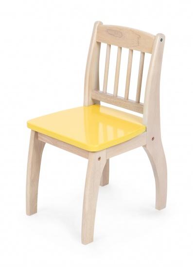 Tidlo Houten Kinderstoel 32 x 36 x 60 cm geel