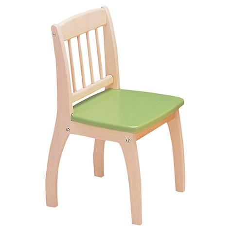 Tidlo Houten Kinderstoel 32 x 36 x 60 cm lichtgroen