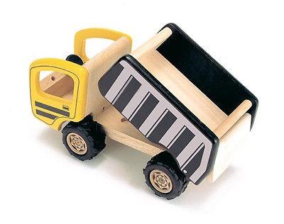 Tidlo Houten Vrachtwagen 12,5 x 23,5 x 13 cm geel