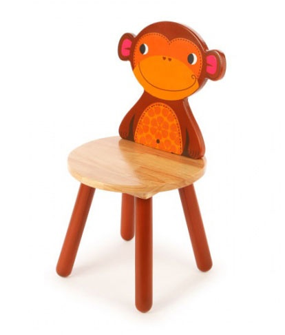 Tidlo Kinderstoel aap 26 cm