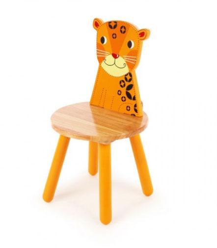 Tidlo Kinderstoel luipaard 26 cm