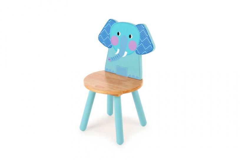 Tidlo Kinderstoel olifant 26 cm