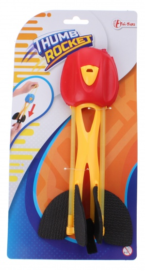 Toi Toys afschiet shooter rood 21 cm