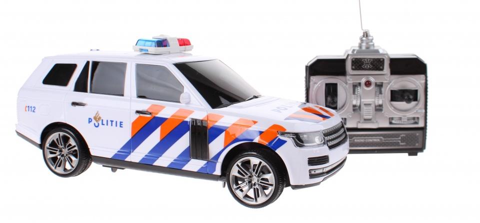Toi Toys RC politieauto Nederlands 24 cm