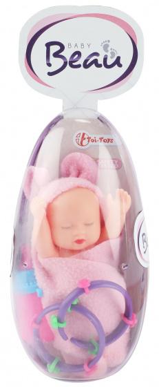 Toi Toys babypop Egg meisjes 13 cm roze