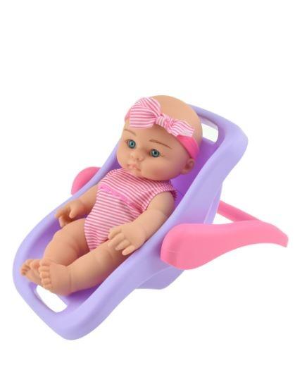 Toi Toys Babypop in draagstoeltje